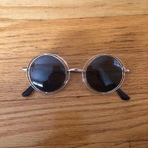 Round lens glasses / hipster glasses